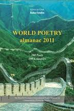 Cover photo of World Poetry almanac 2011